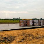 Fundamenty domu na Rudzie Bugaj - gotowa płyta fundamentowa
